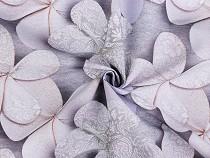 Dekoračná látka Loneta kvety