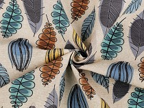 Decorative Fabric Loneta Leaves