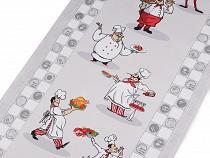 Bavlněné vaflové piké kuchař