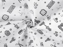 Tkanina dekoracyjna Loneta pasmanteria