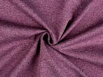 Zimní softshell melír, mírně elastický