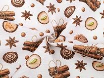Dekorációs anyag Loneta fűszer és cukor