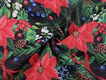 Dekorstoff Loneta Weihnachtsstern
