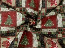 Dekorációs anyag Loneta karácsonyi