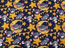 Bavlnená látka myšky