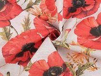 Decorative Fabric Loneta Poppies