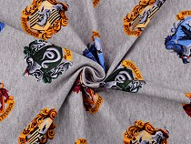 Dzianina bawełniana licencjonowany wzór Harry Potter