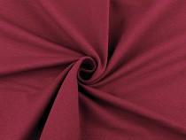 Teplákovina bavlnená nepočesaná jednofarebná