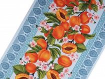 Cotton Waffle Pique Fabric Apricots