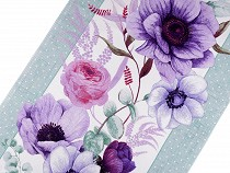 Cotton Waffle Pique Fabric Flowers