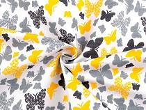 Cotton Twill Fabric Butterflies