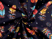 Cotton Fabric Feathers