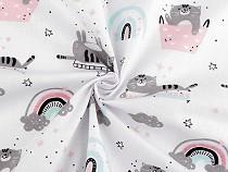 Cotton Fabric Cats