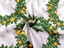 Christmas Cotton Fabric - Wreath