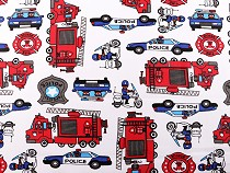 Cotton Fabric Firefighters, Police