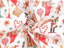 Decorative Fabric Loneta Christmas