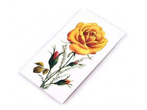 Karnet igieł róże Galant