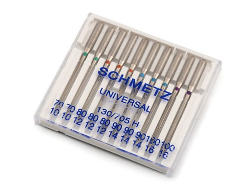 Strojové jehly Universal sdružené 70; 80; 90; 100 Schmetz