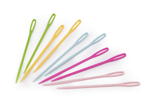 Plastové jehly délka 75 mm tupé