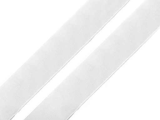 Taśma rzep samoprzylepna, biała szer.20 mm haczyk