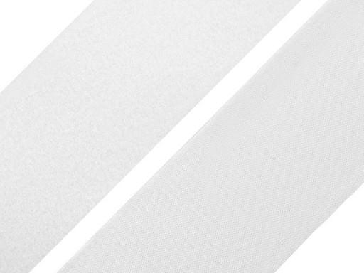 Hook and Loop Fastener width 10 cm white