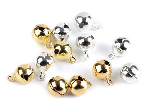 Dzwoneczki metalowe Ø10 mm