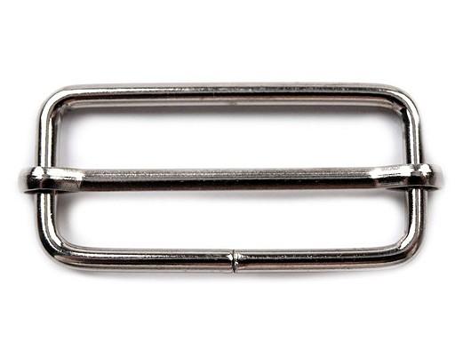Posunovač na popruhy šíře 38 mm na koženou galanterii
