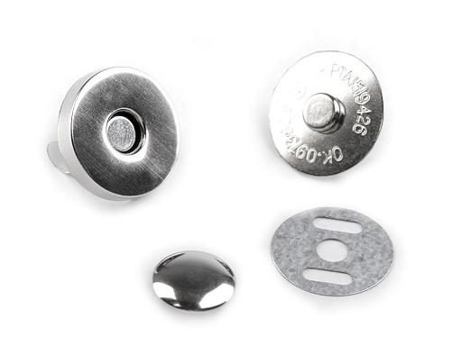 Magnetické zapínání Ø18 mm s nýtkem