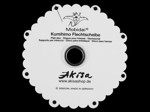 KUMIHIMO MOBIDAI  fonókör zsinórfonáshoz