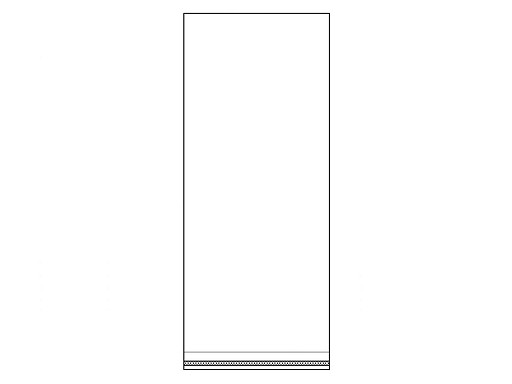 Celofánové sáčky s lepicí lištou 14x30 cm