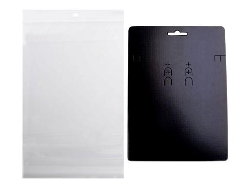 Euro Slot Jewelry Display Hang Card with sachet 150x200 mm
