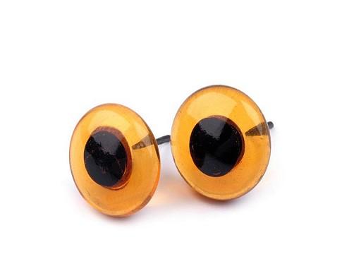 Ochi de sticlă pentru jucării, Ø13-16 mm