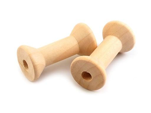 Dřevěná cívka 20x40 mm