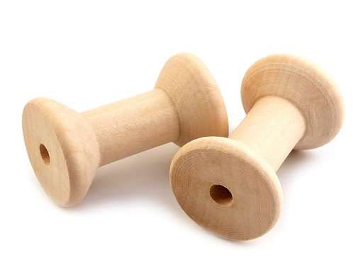 Szpulka drewniana   30x48 mm
