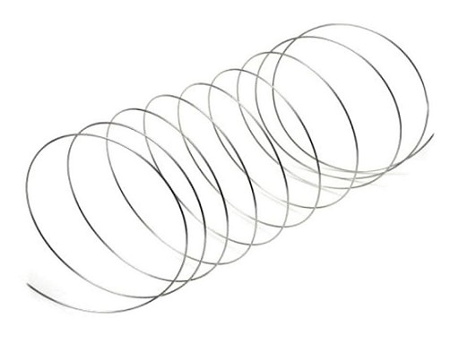 Pamäťový drôt na výrobu náramku Ø5,5 cm 2. akosť