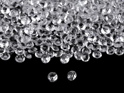 Dekorációs gyémánt kövek Ø6 mm