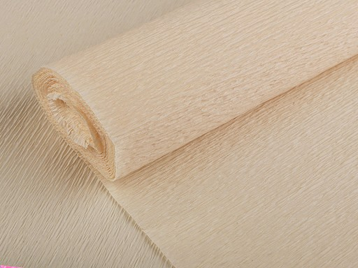 Krepowy papier 0,5x2,5 m duża gramatura