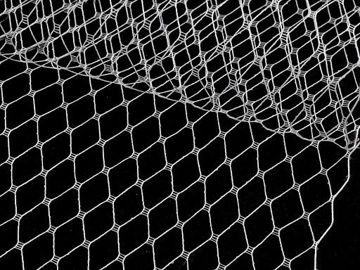 Francouzský závoj šíře 24 cm