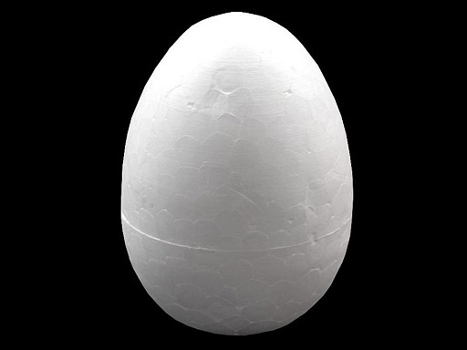 Vajce 6,5x9,5 cm polystyrén