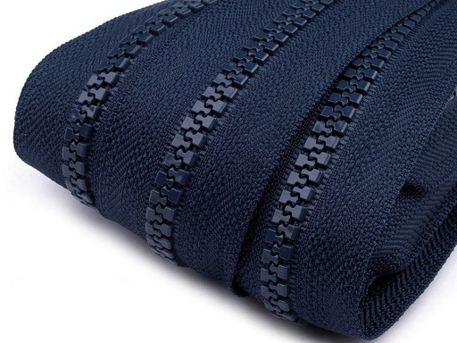 Zips kosticový 5mm metráž