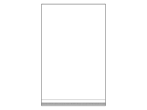 Celofánové sáčky s lepiacou lištou 22x35 cm