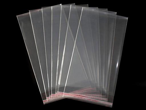 Celofánové sáčky s lepiacou lištou 20x50 cm
