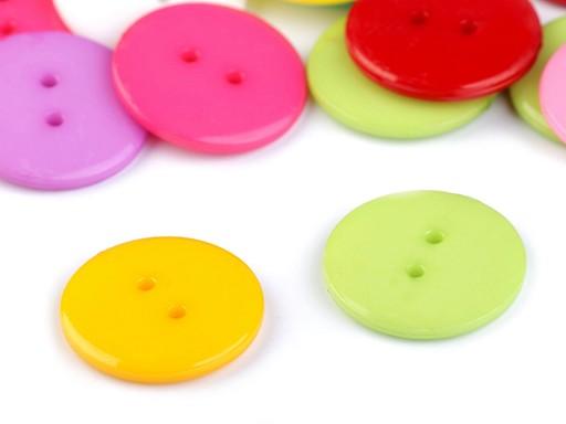 """Gombík farebný mix veľkosť 36"""""""