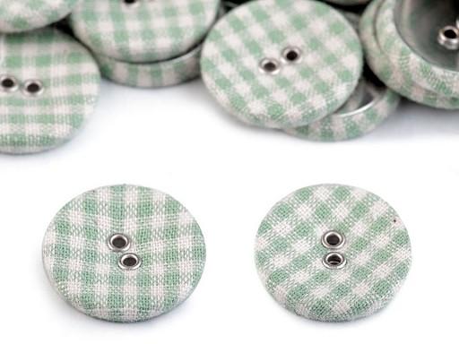 """Potiahnuté gombíky / buttonky veľkosť 34 """""""