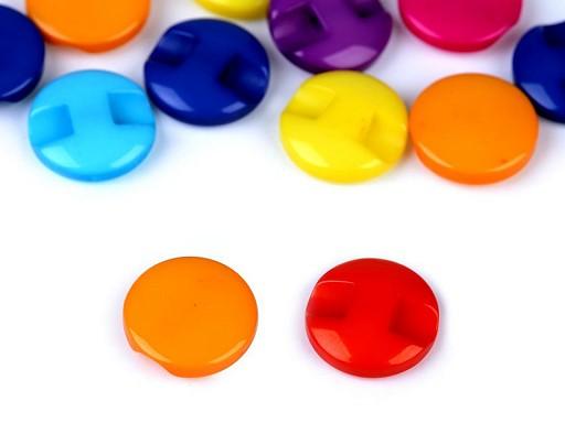 """Knoflík barevný velikost 20"""""""