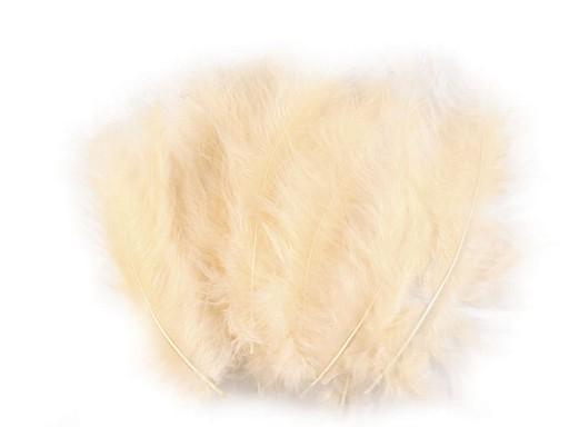 Pštrosí peří délka 9-18 cm