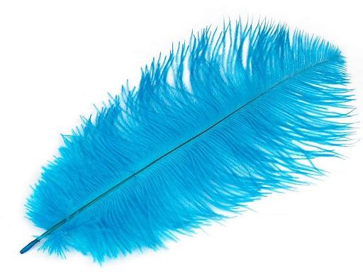 Strusie pióra długość ok. 20 - 25 cm