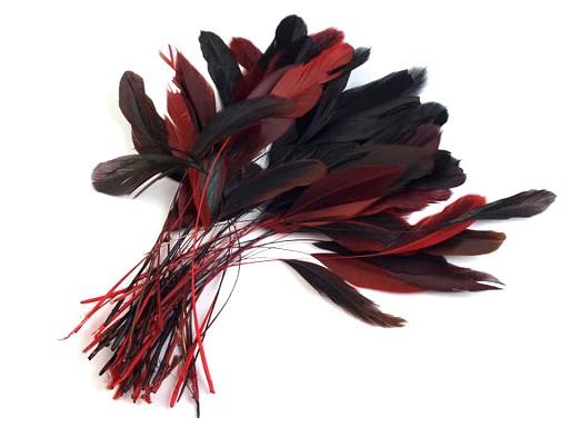 Kohoutí peří délka 13-18 cm