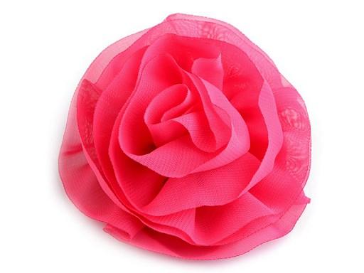 Ozdoba do włosów Ø10 cm róża