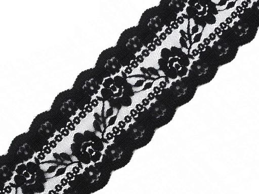 Silonová krajka / vsadka šíře 75 mm